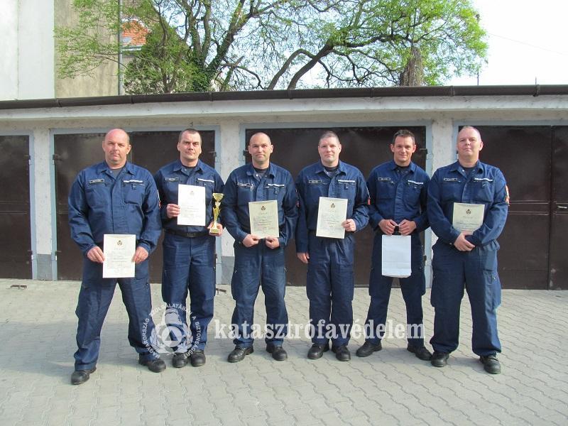 Mosonmagyaróvári tűzoltók voltak a legjobbak