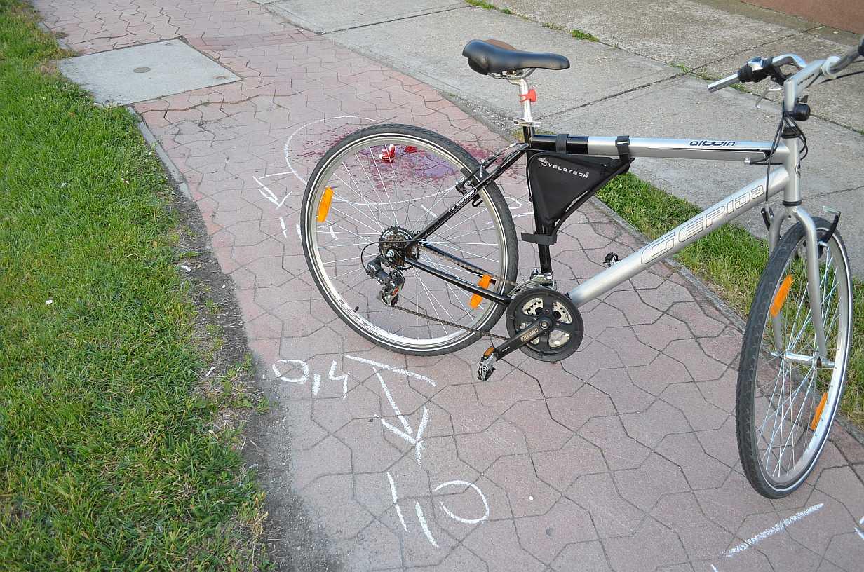 Biciklisek ütköztek