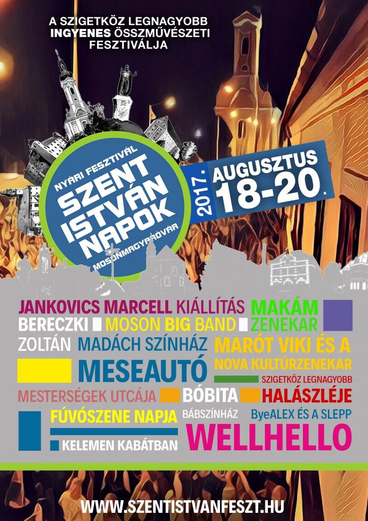 Nyári Fesztivál – Szent István Napok 2017