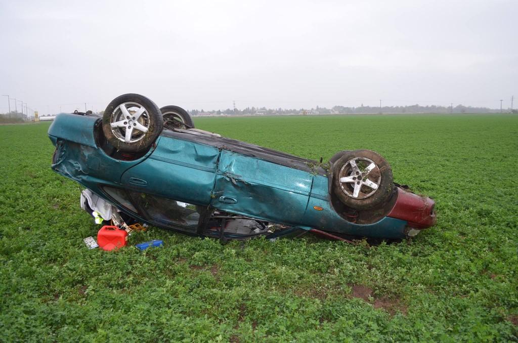 Súlyosan sérült az utas