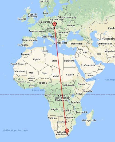Darnózseliből Dél-Afrikáig repült a rekorder gólya
